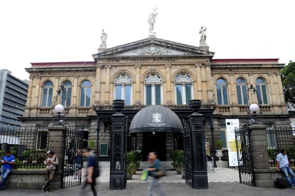 Nacido hace 121 años, el Teatro Nacional es un edificio declarado patrimonio histórico y arquitectónico costarricense. Foto: Melissa Fernández.