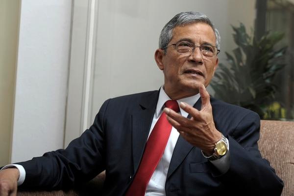 Jorge Chavarría se acogió a la jubilación a partir del 1.° de diciembre. Foto: Pablo Montiel/archivo