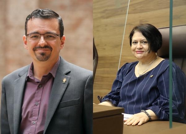 Este martes, José María Villalta tomó el lugar de Aracelly Salas en la comisión de Gobierno.