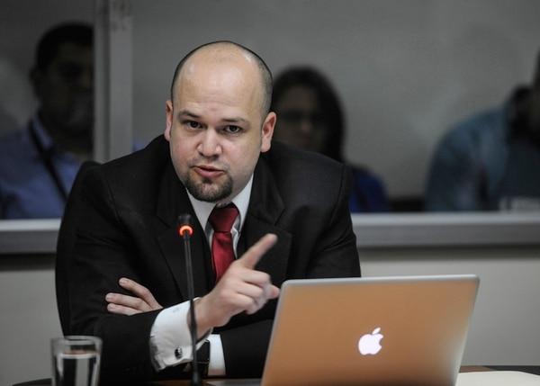 El director del SFE, Francisco Dall'Anese descalifcó las críticas del embajador de Estados Unidos sobre su gestión. | GABRIELA TELLEZ