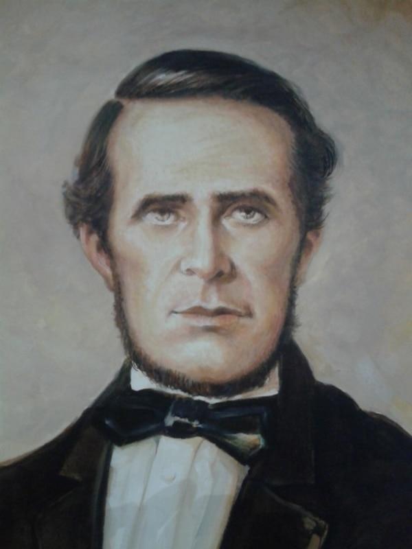 Retrato del comandante José Joaquín Mora Porras (1818-1860). Foto: Museo Histórico Cultural Juan Santamaría.