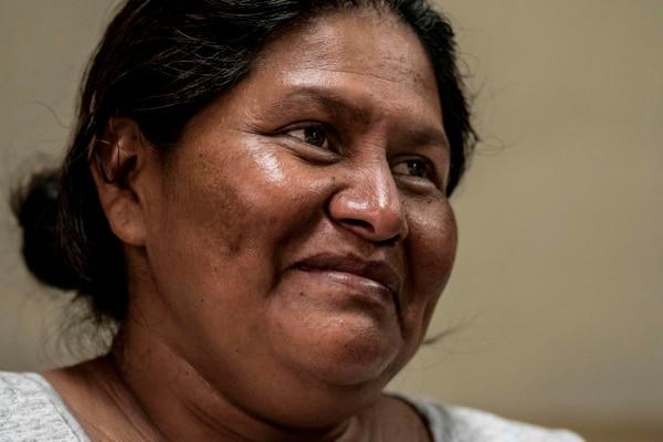 Francisca Ramírez, dirigente campesina nicaragüense, buscó protección en Costa Rica.
