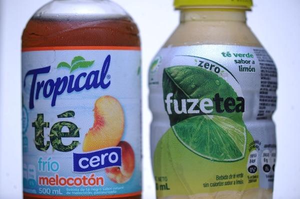 Los jugos y refrescos no gaseosos también han ingresado den el mundo que destierra el azúcar dentro de su lista de ingredientes. Foto: Jorge Navarro