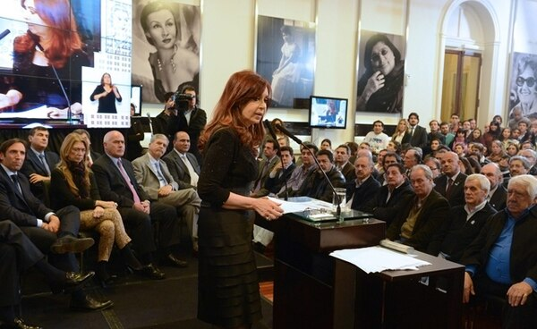 EFE.Cristina Fernández fue elegida presidenta en el 2007 y reelegida en el 2011, tras la muerte de su esposo, el exmandatario Néstor Kirchner.