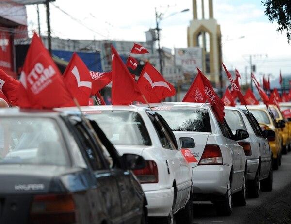 El Movimiento Libertario cerraría sus finanzas con un déficit superior a ¢880 millones luego de cobrar al TSE los gastos de la campaña previa a las elecciones del 2014, en las que obtuvo un 11% de votos para presidente. | ARCHIVO