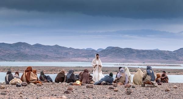 La miniserie 'Yo conocí a Jesús' consta de ocho episodios y es producida por el canal History. Fotografía: History para La Nación