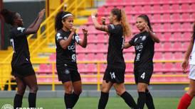 Fútbol femenino al rojo vivo: Sporting FC le da vuelta al marcador y derrota 2-1 a Herediano