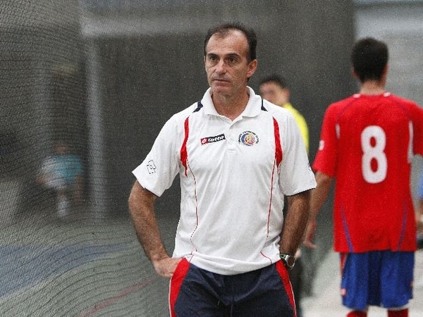 Diego Solís es el entrenador del equipo costarricense | ARCHIVO