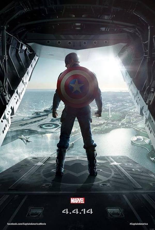 Foto promocional del filme 'Capitán América: el soldado del invierno'.