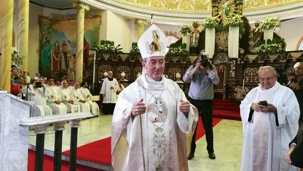 Bartolomé Buigues Oller fue ordenado obispo de Alajuela el 26 de mayo de 2018 en la catedral de Alajuela. Fotografía: Archivo GN.