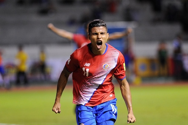 Johan Venegas estuvo en los 14 llamados de Óscar Ramírez para las fechas FIFA y fue pieza clave del seleccionador en la eliminatoria. Fotografía: Melissa Fernández Silva.
