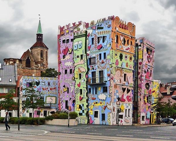 La Casa Feliz Rizzi se encuentra en Braunschweig, Alemania.