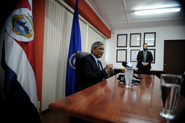 El fiscal general Jorge Chavarría dijo en la tarde, que a quien le corresponde conocer sobre alguna separación es la Sala Tercera.