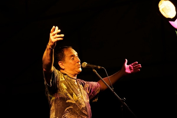 Guillermo Anderson se presentó en Cahuita, Limón, en julio del 2014, como parte del Festival Internacional de Calipso.