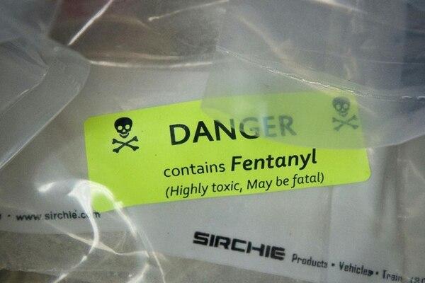 Drogas nuevas, de las últimas descubiertas, como fentanyl.