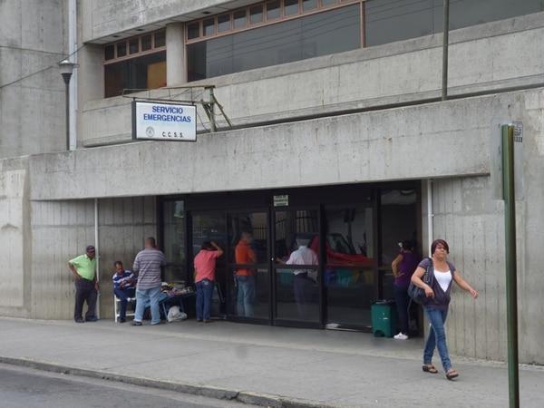 El afectadio fue llevado al Hospital Max Peralta.   ARCHIVO LN