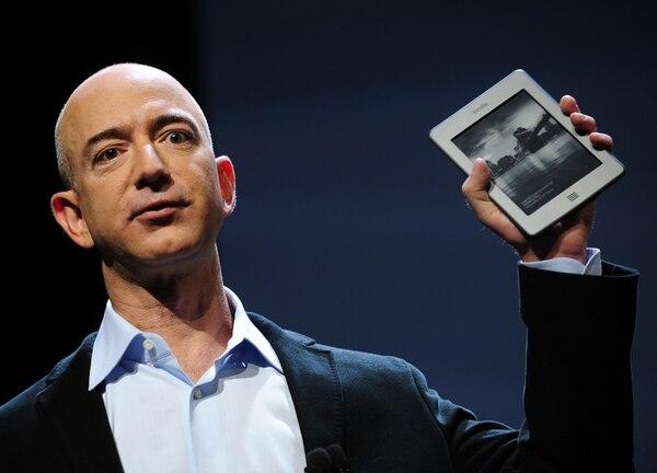 Las acciones de Amazon subieron este año y por eso, una vez más, Jeff Bezos, sigue en la cima de la lista de 'Forbes'. Foto: Archivo.