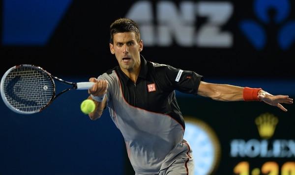 Novak Djokovic avanzó a octavos de final del Abierto de Australia.