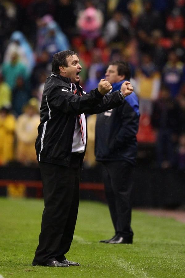 Óscar Machillo Ramírez gritó el gol manudo con euforia. | EFE