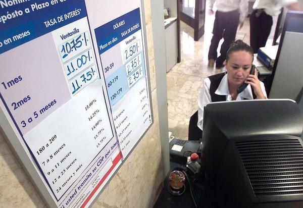 La TBP bajará a 6,60% tras permanecer durante tres semanas en 6,65%. Melina Rodríguez trabaja en Servicio al Cliente del BCR.