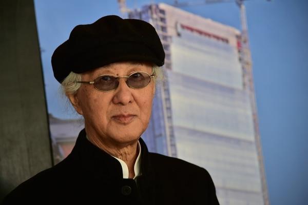 Con 87 años, Isozaki es el octavo japonés en recibir este galardón desde su creación en 1979. (Photo by Giuseppe CACACE / AFP)