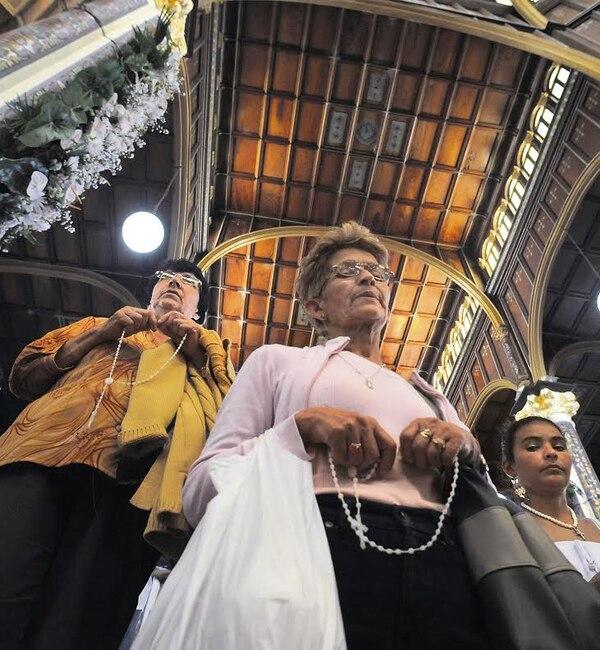 Solo un 38% de los católicos van a la eucaristía todos los domingos. El dato lo arrojó un estudio de la Universidad Nacional.