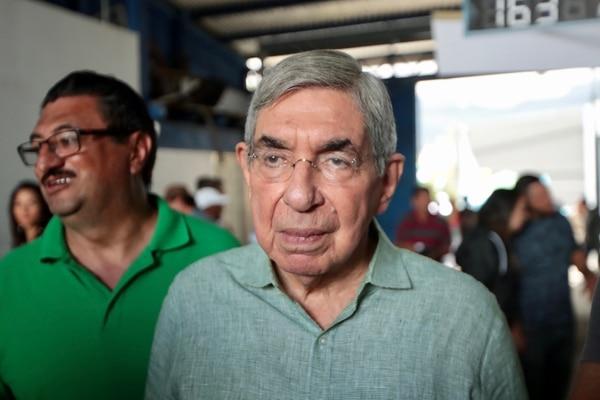 El expresidente Oscar Arias considera que el PLN debería buscar un candidato de consenso. Foto Alonso Tenorio