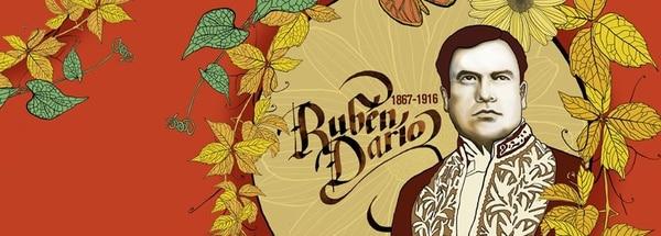 Ilustración para el centenario de Rubén Darío
