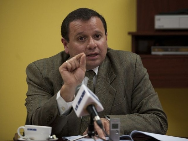 """En octubre de 2011 Ubaldo Carrillo dijo sentir """"una alta decepción"""" por lo acontecido en Logística.   ARCHIVO."""
