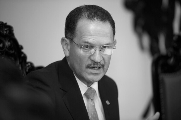 Eduardo Prado, gerente del Banco Central. Foto: Ronald Pérez Brenes