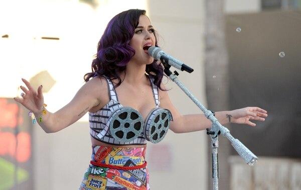 Katy Perry en una presentación en el Grauman's Chinese Theatre en el 2012, en Los Ángeles. AP