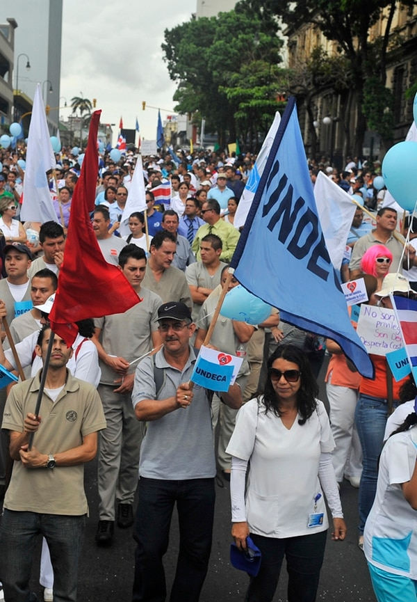 Si bien las huelgas en servicios públicos están prohibidas, los trabajadores las usan para defender sus convenciones colectivas. | MAYELA LÓPEZ
