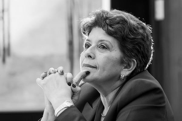 La contralora general de la República, Marta Acosta.