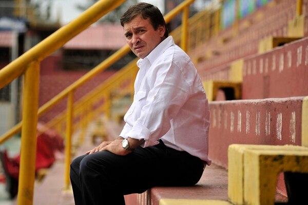 Óscar Ramírez, D. T. de la Liga.