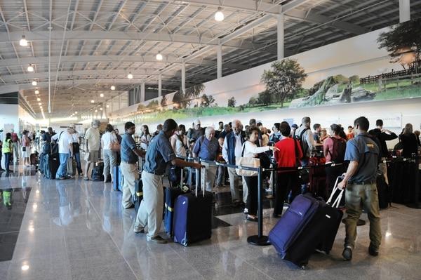 En el 2015 la terminal Daniel Oduber atendió a 888.227 pasajeros.