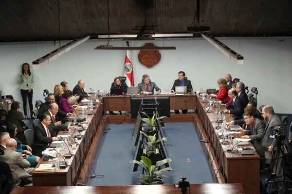 La decisión de manter el pago de pluses como porcentajes del salario fue tomada por los magistrados de la Corte Plena. / Fotografía: John Durán