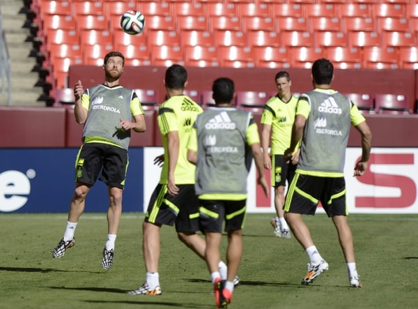 La selección española se prepara en Estados Unidos para el mundial, allí disputará hoy un amistoso contra el combinado de El Salvador. | EFE