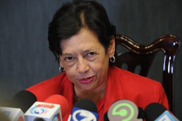 La exministra Elizabeth Fonseca estuvo fuera 29 días. | JORGE NAVARRO