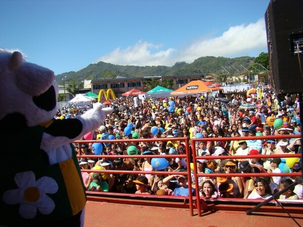 Los encargados del PANI vigilarán la seguridad de los menores que visiten las fiestas.