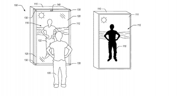 Amazon obtuvo la patente para fabricar un espejo inteligente en la Oficina de Patentes y Marcas de Estados Unidos.
