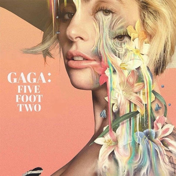 Póster oficial del documental 'Gaga: Five Foot Two'.