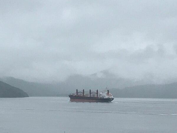 El ferry para pasar de una isla a otra en Nueva Zelanda. Fotografía Carina Gallegos