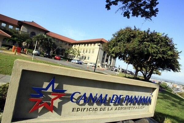 Vista del edificio de la administración del Canal de Panamá.   EFE