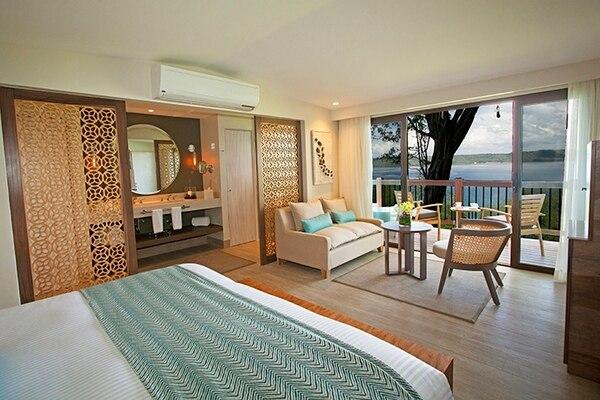 Esta es una de las habitaciones de la marca Secrets Papagayo Costa Rica, hotel que abrirá el 20 de noviembre.   CORTESÍA SECRETS PAPAGAYO