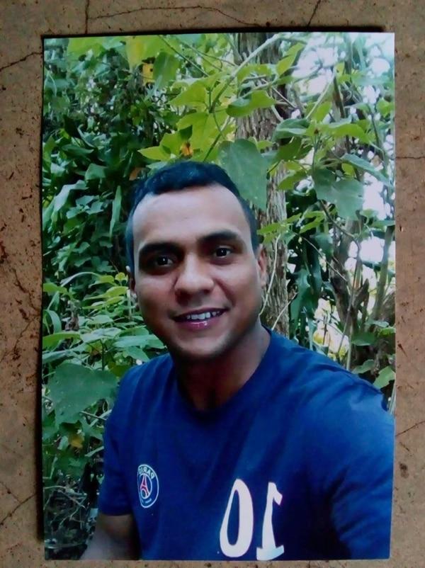 Pedro Obando era el menor de ocho hermanos y vivía en Cabeceras de Quebrada Grande, Tilarán. Foto: Cortesía Melania Obando P.