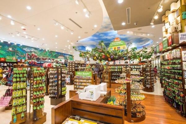 Esta es una de las Britt Shop que maneja el Grupo en Costa Rica. La marca tiene presencia en 13 países diferentes.