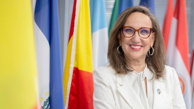 La exvicepresidenta Rebeca Grynspan ha ocupado cargos de alta dirección en la ONU, Cepal, PNUD y la  Secretaría General Iberoamericana. Foto: Cortesía Segib.