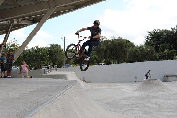 El Centro Cívico por la Paz de Pococí cuenta con un Skate Park. Fotografía: Presidencia