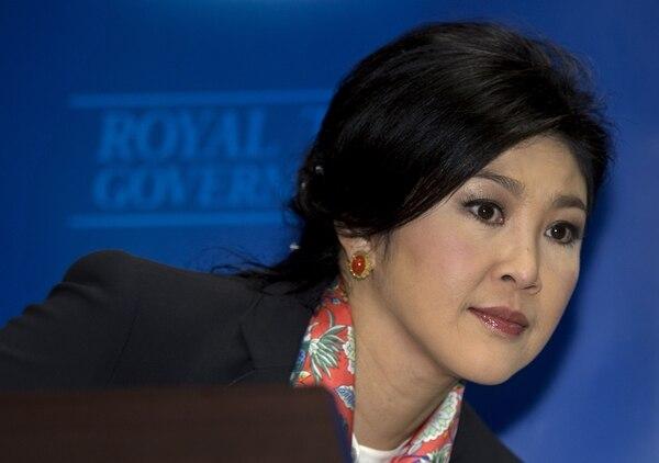 La justicia destituyó este miércoles por abuso de poder a la primera ministra Yingluck Shinawatra.