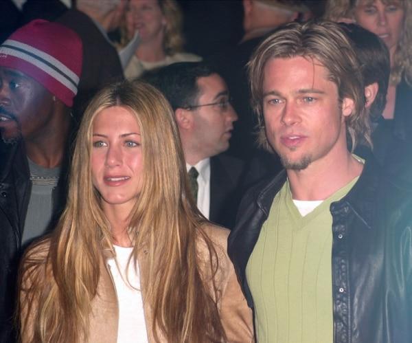 Jennifer Aniston y Brad Pitt en sus buenos tiempos. Luego, se derrumbó el amor. FOTO: Shutterstock
